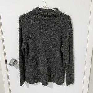 Michael Kors Derby Mock Neck Pullover Sweater - S